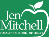 Jen Mitchell for School Board Logo